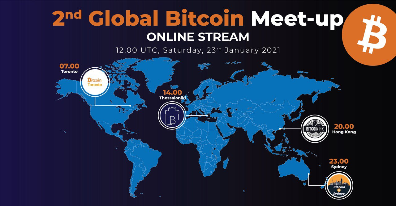 2nd Global Bitcoin Meetup
